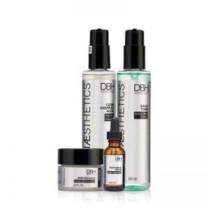 Bộ sản phẩm chăm sóc cơ bản dành cho da dầu da mụn DBH