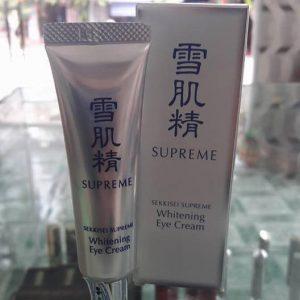 Kem dưỡng da vùng mắt Sekkisei Supreme Whitening Eye Cream