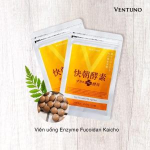 Viên uống giảm cân Enzyme Fucoidan Kaicho - 124 Viên