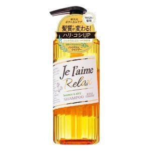 Dầu Gội Cho Tóc Dầu, Mỏng, Yếu Kosé Cosmeport Je L'aime Relax Shampoo Bounce & Airy (500ml)