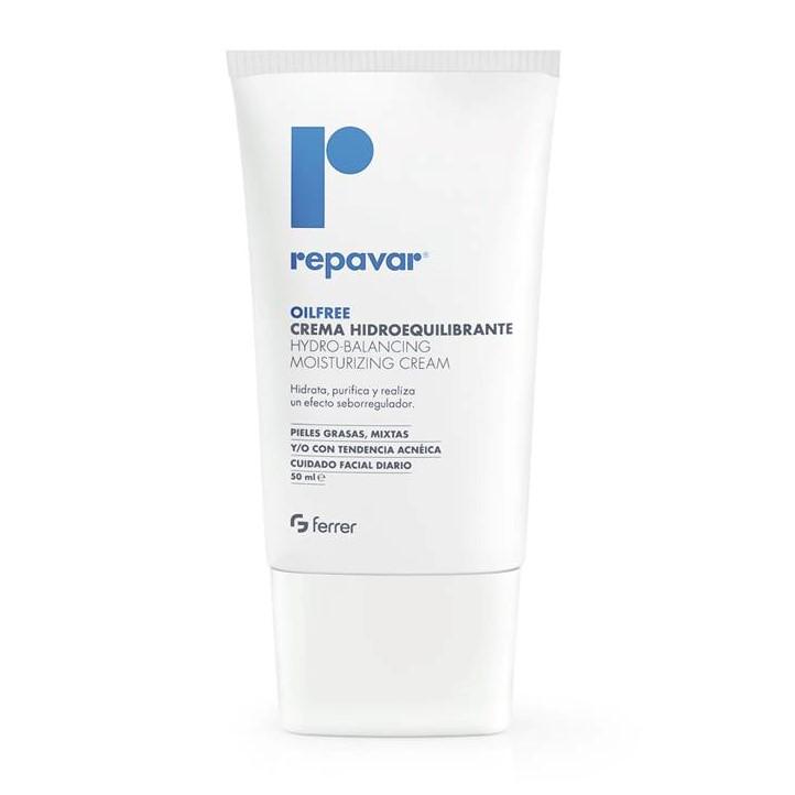 Kem dưỡng ẩm cân bằng da dành cho da hỗn hợp nhờn mụn REPAVAR Oil free Hydro Balancing Moisturizing Cream